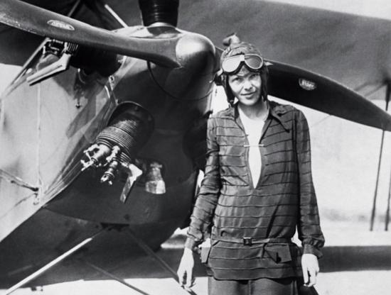 Amelia Earhart: pilotka, która podbiła niebo